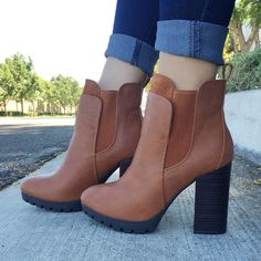 Forget being funky fresh. Right now it's all about being *chunky* fresh with these booties.