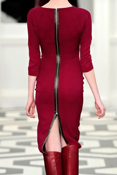 Victoria Beckham. Oh lawd. I can see the bad things happening with this dress. Someone who thinks they are being funny and unzip it!