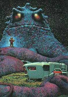The 1975 Annual World's Best SF by Richard Corben