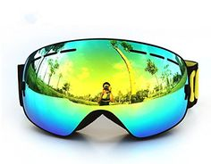 COPOZZ Snow Skate Ski Goggles Ski Eyewear with Detachable Mirror coating Anti-Fog and UV 400 Protection Lens Copozz http://www.amazon.com/dp/B01932EC86