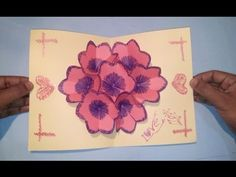 How to make a 3d flower pop up greeting card dailymotion paper b70c76e52c92c9afbe72ca2d44073789 pop up greeting cards how to make yourg m4hsunfo