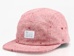 Chambray Monogram 5-Panel Hat by HUF