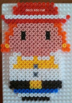 Jessie Toy Story hama perler beads by deco.kdo.nat