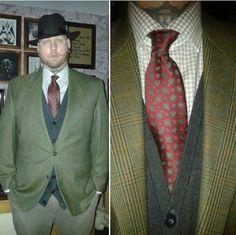 #vintagestyle #menswear #tie #vintagetie #stetsonhat #hat #fedora #vintagemenswear