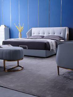 Bedroom Lamps Design, Bed Headboard Design, Luxury Bedroom Furniture, Master Bedroom Interior, Bedroom Closet Design, Modern Bedroom Design, Cozy Bedroom, Cozy Furniture, Convertible Furniture