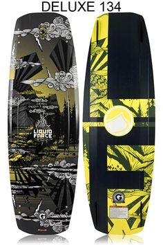Liquid Force Deluxe Hybrid Wakeboard 2013 at BoardCo.com  #wakeboards #wakeboard #wake