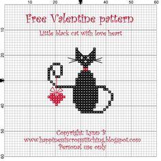 Happiness is Cross Stitching : Free valentine cross stitch ...