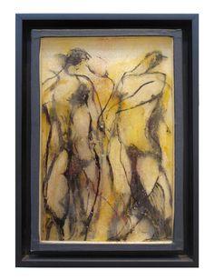 "Chrissy Dolan-Terrasi, ""Transmigrant"", 2016, mixed media, 14 x 10"""