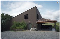 Maison MU- architecte : Isabelle Berthet-Bondet Architecture-nature