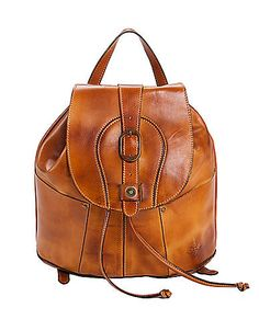 Vasto Leather Backpack | Lord and Taylor