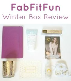 FabFitFun Winter VIP Box 2016 Review