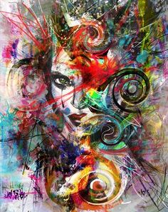"Saatchi Online Artist yossi kotler; Mixed Media, ""nothing to hide"" #art"