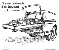 """The Big Drawer-could use these plans to make larger size """"drawers"""" to fit under deck"""