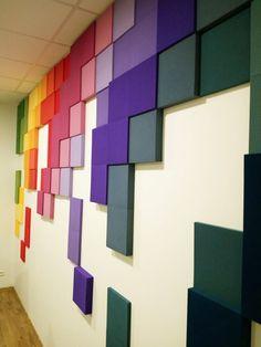 panele ścienne, panele ścienne 3d, dekoracje ścienne, panele dekoracyjne - Fluffo Pixel proj. Robert Kowalczyk LADECO Sp. z o.o.