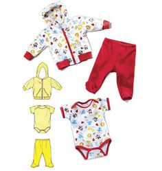 Kwik Sew 3811 Jacket, Pants & Romper Baby I can see my baby grandson wearing these. He was born 12/11/2012.