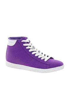 ASOS DEVIOUS High Top Trainers - i love these. + my fave color!