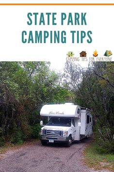 Beginner tips to plan a state park camping trip including types of camping you will find at state parks and how to reserve your campsite. #CTE Rv Camping Tips, Camping For Beginners, Camping Glamping, Rv Tips, Rv Travel, Family Travel, Travel Destinations, Dinosaur Valley State Park, Parks Department