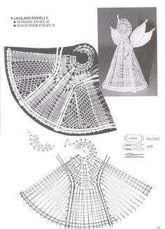 navidad - rosi ramos - Picasa Web Albums Crochet Angels, Crochet Lace, Bobbin Lacemaking, Bobbin Lace Patterns, Crochet Butterfly, Angel Crafts, Crochet Ornaments, Lace Heart, Lace Making