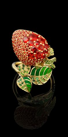Master Exclusive Jewellery - Collection - Fruits and berries Red sapphires