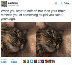 Embarrassing memories haunting you: | 18 Hilarious And Painfully Relatable Tweets About Being A Human Disaster