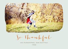 So Thankful Thanksgiving card