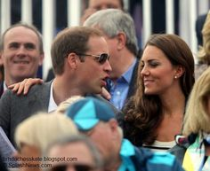 Duchess Kate: Year In Review: 2012 - William and Kate are both huge fans of sport and appeared to really enjoy the games.