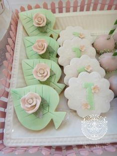 Kara's Party Ideas Rose Garden Flower Girl 1st Birthday Party Planning Decorations Ideas