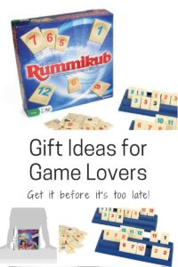 Rummikub is a classic game that teaches color and pattern matching as well as strategy.