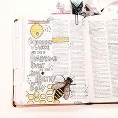 Gracious words are like a honeycomb / kelsienoellee  -  Kelsie
