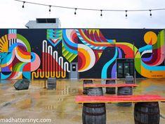 Mural Wall Art, Graffiti Wall, Visionary Art Museum, Garden Mural, School Murals, Outdoor Wall Art, Wall Exterior, Murals Street Art, Deco