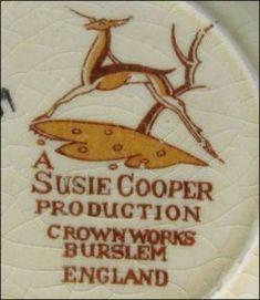 Susie Cooper Crown Works Burslem