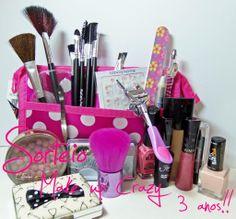 Make up Crazy: Sorteio de 3 anos do Blog