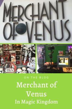 Merchant of Venus in Magic Kingdom Disney World Magic Kingdom, Disney World Parks, Disney World Planning, Walt Disney World Vacations, Disney Tickets, Star Wars Merchandise, Epcot, Venus, Shopping