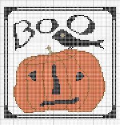 Halloween Cross-Stitch Patterns By Betty Dekat of primitivebettys