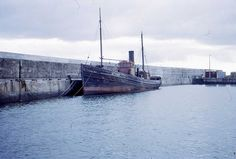 LT 495 Lizzie West - Last Steam Drifter  photographed 1966 in the Balaclava basin in Fraserburgh harbour. It was built at Herd and McKenzie's yard at Buckie in 1934 and was fitted with an 18 inch Lewis Triple Engine.  It was eventually scrapped at the start of the 1970's.