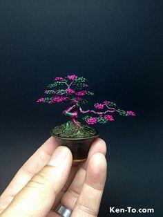 pink_green_wire_bonsai_tree_by_ken_to_by_kentoart-d63o865.jpg (525×700)