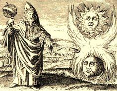 """Una vez superadas las pruebas a que es sometida, entonces, el alma """"desvestida de cuanta energía le fue conferida por la Armonía, y enfundada en su propio poder, entra en la Octava Esfera"""". (Hermes Trismegisto, """"Poimandres"""")"""