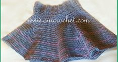 This crochet toddler skirt is one of the many free crochet patterns by Oui Crochet.