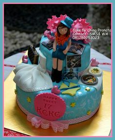 Cakes creation by ching pranata - Jakarta ,Indonesia