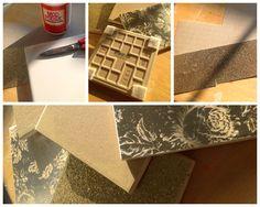 #DIY Ceramic Tile Coasters #Craft