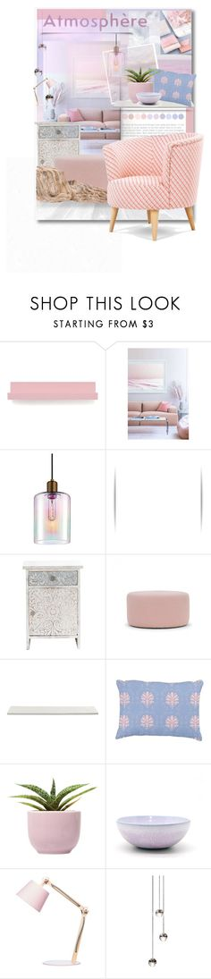 """""""Pastel Place"""" by ket0798 on Polyvore featuring interior, interiors, interior design, home, home decor, interior decorating, House Doctor, Crate and Barrel, Stone & Aster and M&S"""