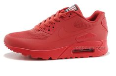 727de042f9 Nike Air Max 90 Hyperfuse USA Independence Day Red 613841-660 Nike Tights,  Nike