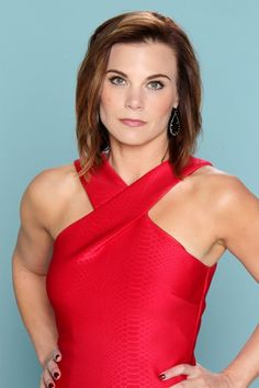 Young & The Restless ( Gina Tognoni, Young And The Restless, Interview, One Shoulder, Hollywood, Celebrities, Twitter, Tops, Women