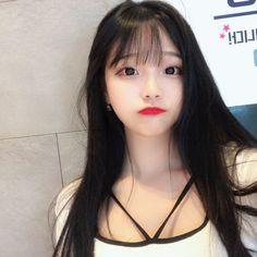 A imagem pode conter: 1 pessoa, close-up Pretty Korean Girls, Korean Beauty Girls, Cute Korean Girl, Cute Asian Girls, Beautiful Asian Girls, Asian Beauty, Cute Girls, Jung So Min, Korean Girl Photo