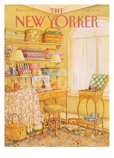 The New Yorker Cover - March 2, 1987 Regular Giclee Print by Jenni Oliver at Art.com