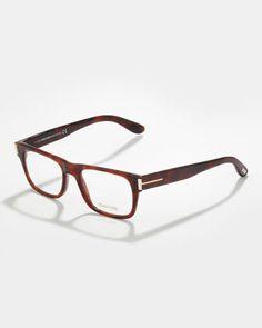 d3549c7bad3 TOM FORD Unisex Soft Squared Fashion Glasses