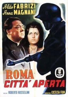 El Acorazado Cinéfilo - Le Cuirassé Cinéphile: Roma città aperta – di Roberto Rossellini.  Marile...