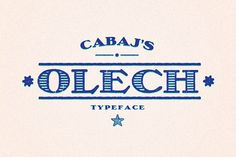 OLECH FAMILY by CABAJ on @creativemarket