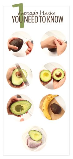 Avocado Hacks - How to cut, store and check to see if your avocado is ripe. All the avocado tips and tricks you need and more...