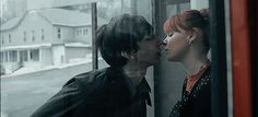 """Adam Driver kissing a redhead in the short """"I'm Coming Over"""""""